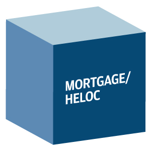 Decorative image showing the words Mortgage/HELOC